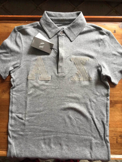 Playera Armani Exchange Talla Xs Gris