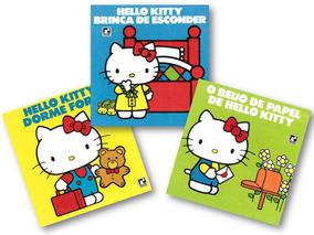 Hello Kitty Lote Com 3 Livros - Ponta De Estoque Mais Barato