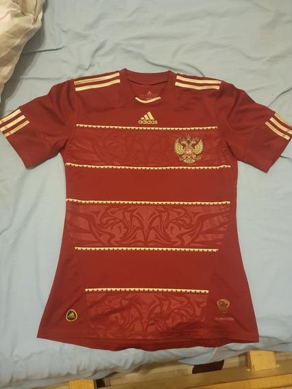 Camiseta De Rusia adidas 2010 Talle S
