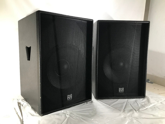 Sistema Martin Audio Serie Blackline+ Y Amp. Powersoft