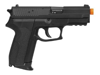 Pistola Airsoft Co2 Kwc Sig Sauer Sp2022 + 5 Co2+ Bbs