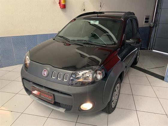Fiat Uno Way 1.4 (flex) 4p 2013 Completo Impecável