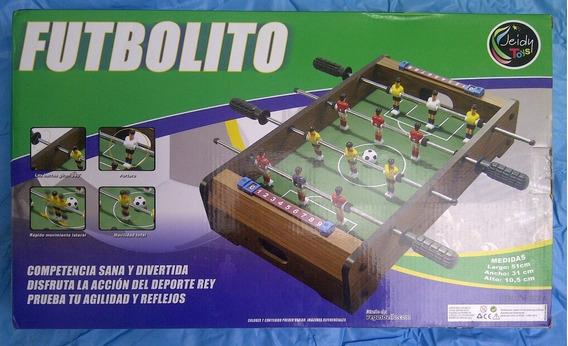 Mesa De Futbolito Pequeña Jeidy Toys