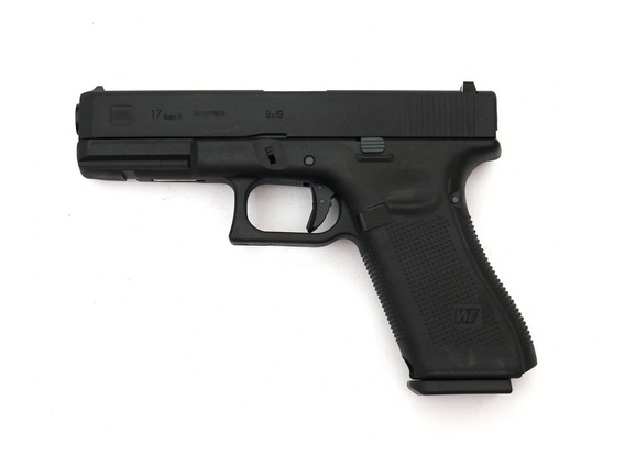 Airsoft Pistola Glock 17 Gen 5 We-tech Negro (sin Marcages)
