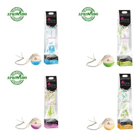 4 Pçs Aromatizante Ona 6ml - Perfume P/carro O + Top Sortido