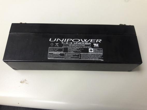 Bateria Selada 12v 2.3ah Unipower Up1223 - Vida Útil: 2 Anos