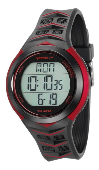 Relógio Monitor Cardíaco Speedo Contador Passos 80621g0evnp1