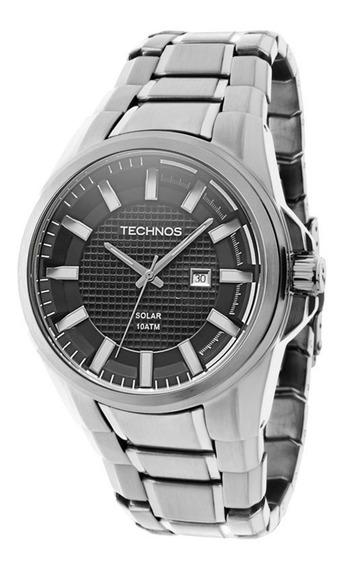 Relógio Technos Masculino Analógico Classic Solar As37aa/1c