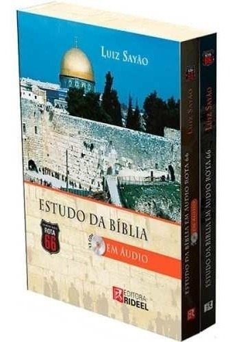 Bíblia De Estudo Luiz Sayão Em Aúdio Completa Frete Grátis