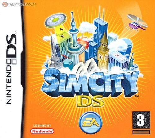 Imagen 1 de 10 de Juego Nintendo Ds 3ds Simcity  - Refurbished Fisico