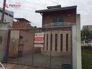 Sobrado Com 3 Dormitórios, 124 M² - Venda Por R$ 440.000,00 Ou Aluguel Por R$ 1.800,00/mês - Portal Das Alamedas - Franco Da Rocha/sp - So0859