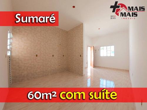 Sumaré Salerno 60m² Com Suíte - Casac