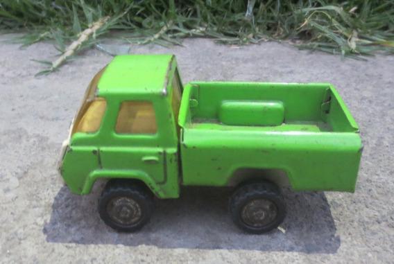 Antigua Y Rara Camioneta Pick-up De Lamina De Coleccion!