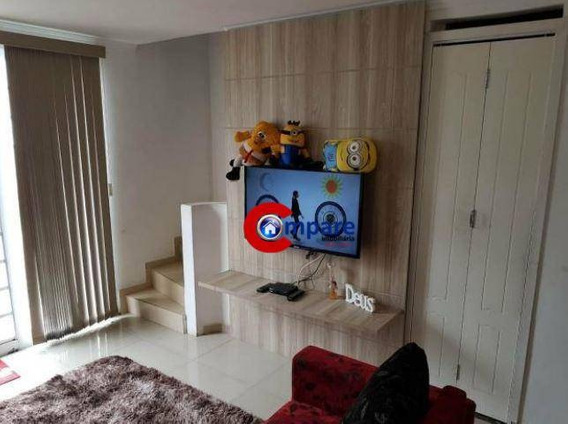 Sobrado Com 2 Dormitórios À Venda, 57 M² Por R$ 230.000 - Vila Nova Bonsucesso - Guarulhos/sp - So1838