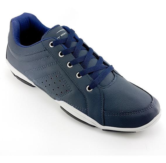 Sapatenis Sapato Casual Masculino Tamanho Grande Bk1215
