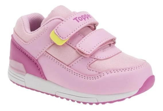 Zapatillas Topper Bebe Lele Abrojo Velcro Asfl70