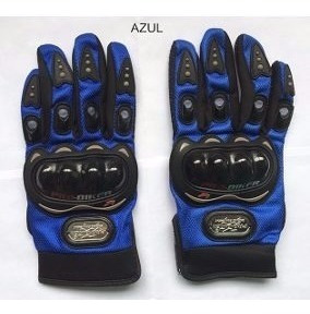 Luva Motociclista Pro-biker Azul - Tamanho Xxl