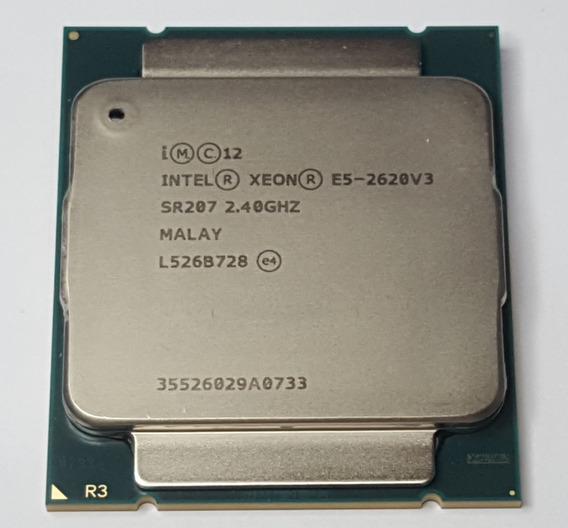 Processador Intel Xeon E5-2620 V3 Cache De 15m, 2,40 Ghz