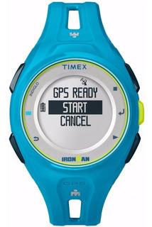 Reloj Timex Ironman Run X20 Gps Tw5k87600 Hombre | Original
