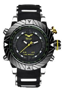 Reloj Wolf Cub Dual Time - Negro