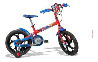 Bicicleta Homem Aranha / Spider Man Aro 16 Vermelha - Caloi