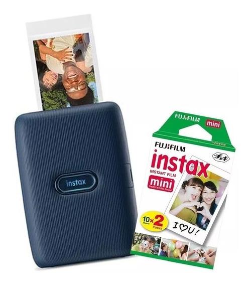 Instax Mini Link - Impressora Para Fotos,celular+20 Filmes.