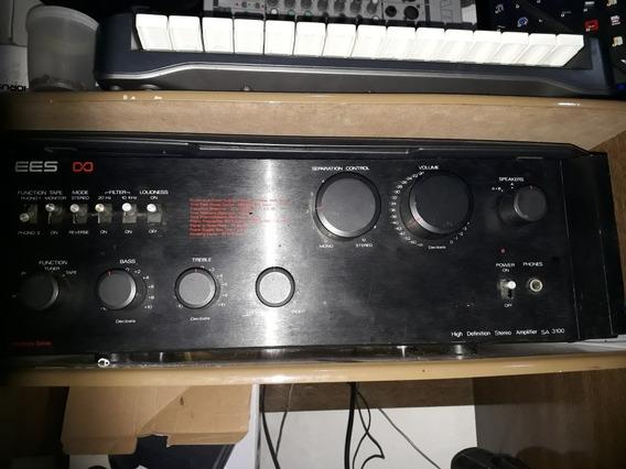 Amplificador Quasar 3100 Top Da Linha Alto Ganho E Definição