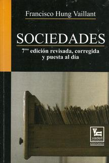 Libro Sociedades, 7ma Edición, Vadell Hermanos Editores