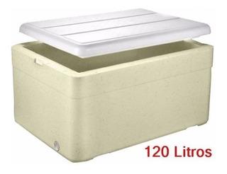3 Caixa Térmica Grande Isopor 120 Lts Cerveja Refrigerante