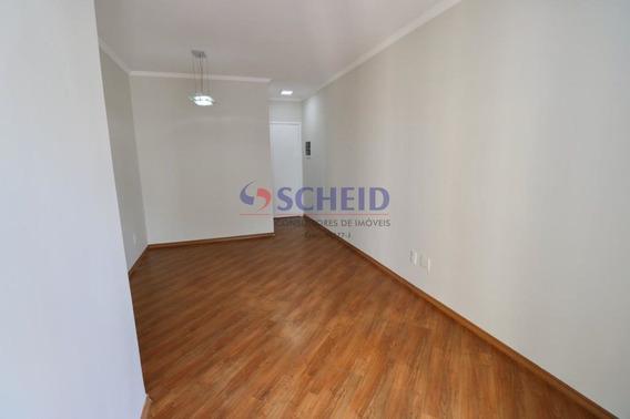 Apartamento Com Sacada, Ao Lado De Comércios E Restaurantes. - Mr68073