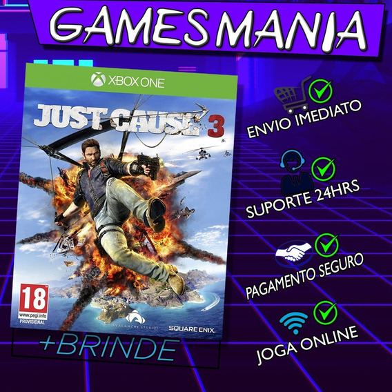 Just Cause 3 Xbox One + 2 Brindes