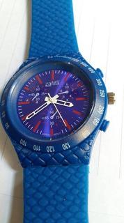 Reloj De Pulsera Sport Silicona Texturada Analogico Z.646