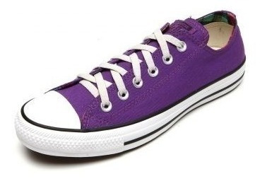 Converse All Star Ct As Core Ox Roxo Adulto Infantil