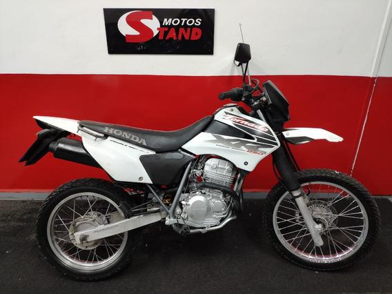Honda Xr 250 Tornado 250 2002 Branca Branco