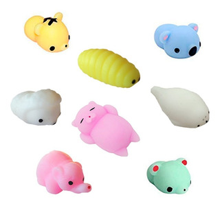 Squishy Animales Mochi Pack X30 Squishies Kawaii P/ Mayor