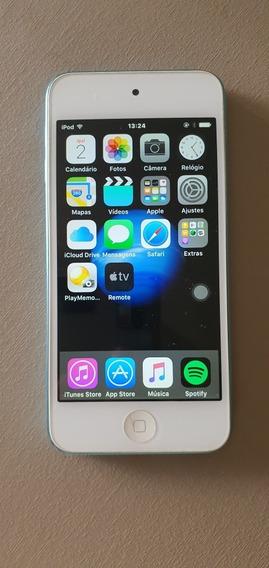 iPod Touch Azul 5a Geração Com Caixa, Leia Descrição