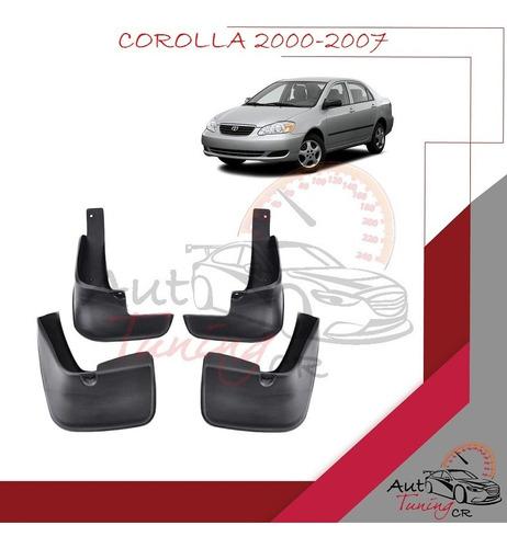 Imagen 1 de 1 de Loderas Toyota Corolla 2000-2007