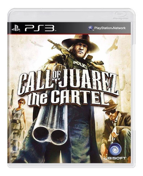 Call Of Juarez The Cartel Ps3 Mídia Física Pronta Entrega