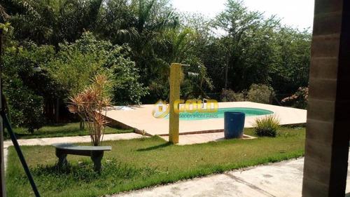 Imagem 1 de 12 de Chácara Com 3 Dormitórios À Venda, 1086 M² Por R$ 600.000,00 - Chacara Itália - Cosmópolis/sp - Ch0040