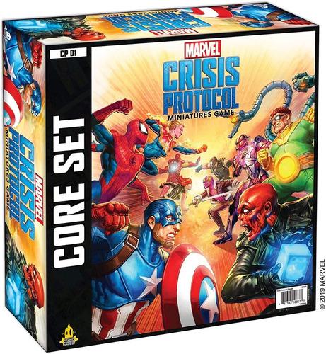 Imagen 1 de 3 de Marvel Crisis Protocol Board Game Twilight Imperium Heroclix