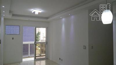Apartamento Com 3 Dormitórios À Venda, 80 M² Por R$ 450.000 - Santa Rosa - Niterói/rj - Ap2288