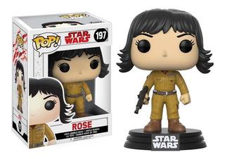 Figura Coleccionable Pop Star Wars The Last Jedi Rose Funko