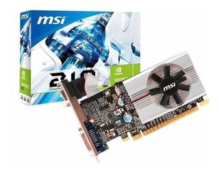 Tarjeta De Video Msi Nvidia Geforce 210 1gb Ddr3 64-bit, Pci