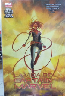 Cómic La Vida De Captain Marvel