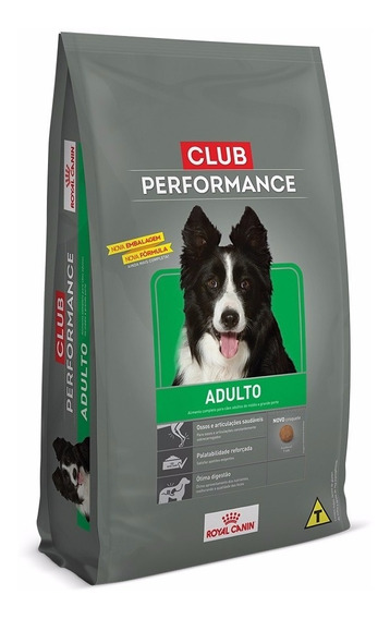 Ração Royal Canin Club Performance Cães Adultos 15 Kg