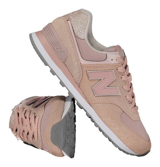 Tênis New Balance 574 Feminino Rosa