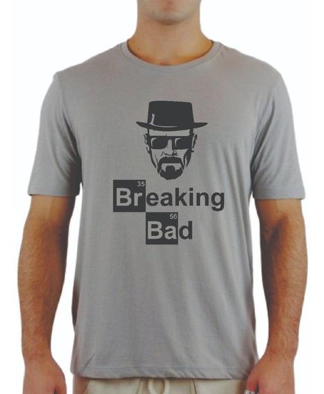 Camisa Camiseta Breaking Bad Séries Filmes Bandas Promoção