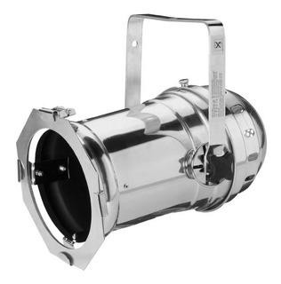 Tecshow Par 64 Lp Tacho 1000 Spot Largo Pulido Aluminio Dj