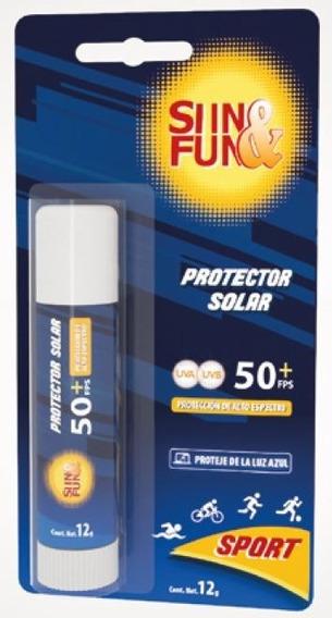 Protector Solar En Barra De Alto Espectro Y Luz Azul Sport
