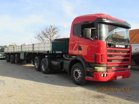 Scania R124 360 Carreta Vanderleia 15m C/ Pneus